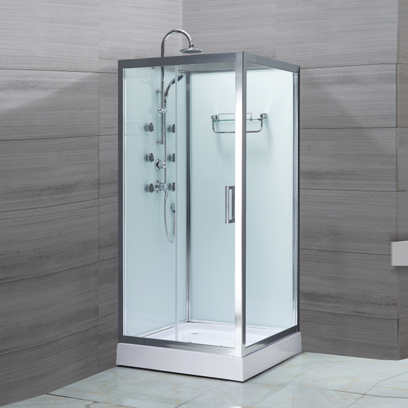 Square Shaped Shower Enclosure With Shower Set LX-1001