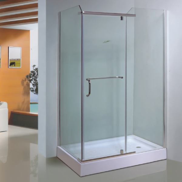 Rectangle Shaped Polished Framed Shower Enclosure-LX-1023