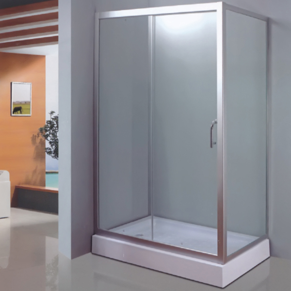 Rectangle Shaped Shower Enclosure With ABS Tray-LX-1036