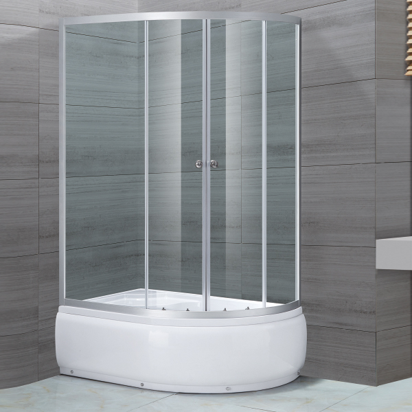 D Shaped Shower Enclosure With ABS Tary-LX-1109