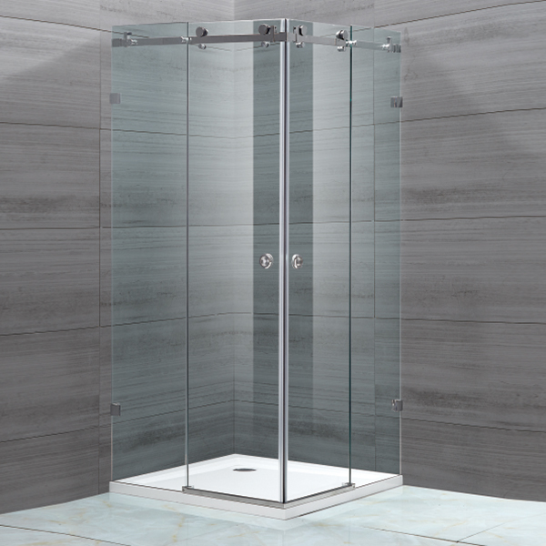 Square Shaped Sliding Shower Enclosure-LX-1110