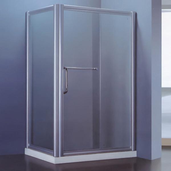 Polished Aluminum Alloy Framed Shower Room-LX-1165