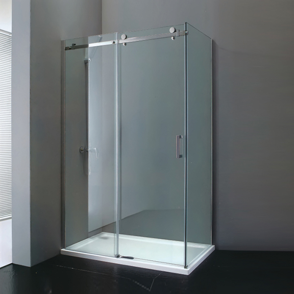 Sliding Shower Cubicles With Shower Tray-LX-1168