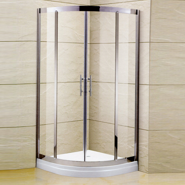 Polished Stainless Steel Shower Cubicles-LX-1179