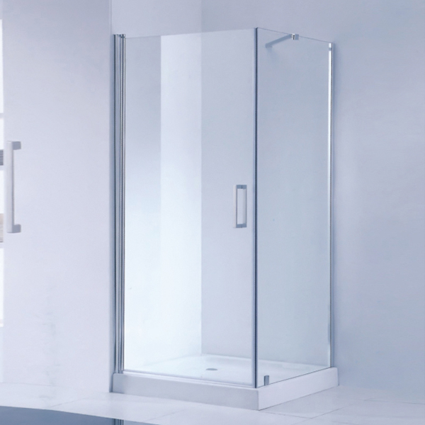 Stainless Steel  Frameless Shower Cubicles-LX-1181
