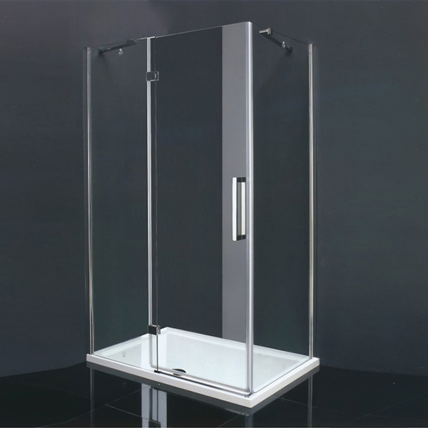 Stainless Steel  Frameless Shower Cubicles-LX-1183