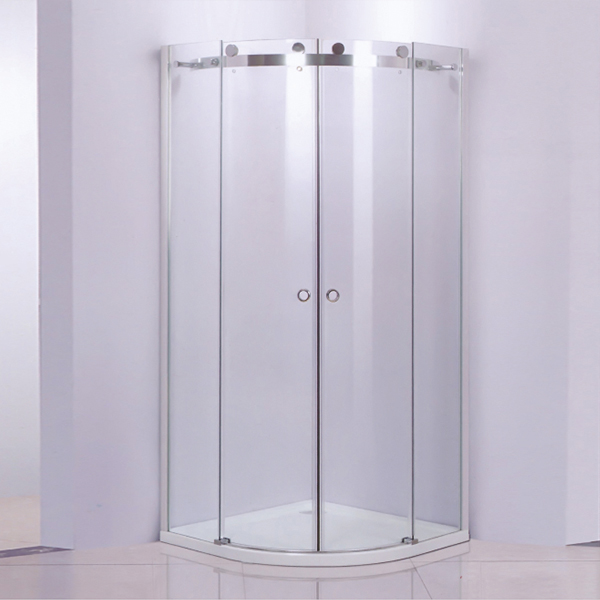 Sector Shaped Shower Enclosure With ABS tray-LX-1230