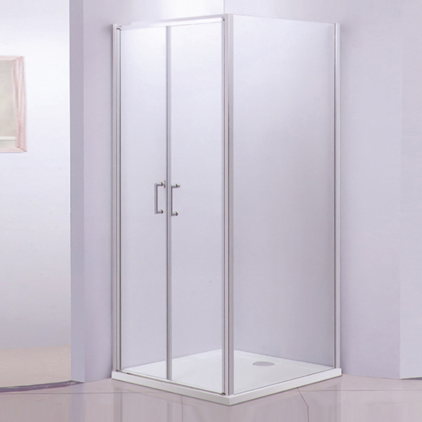 Square Shaped Shower Cubicles With Acrylic Shower Tray-LX-1239