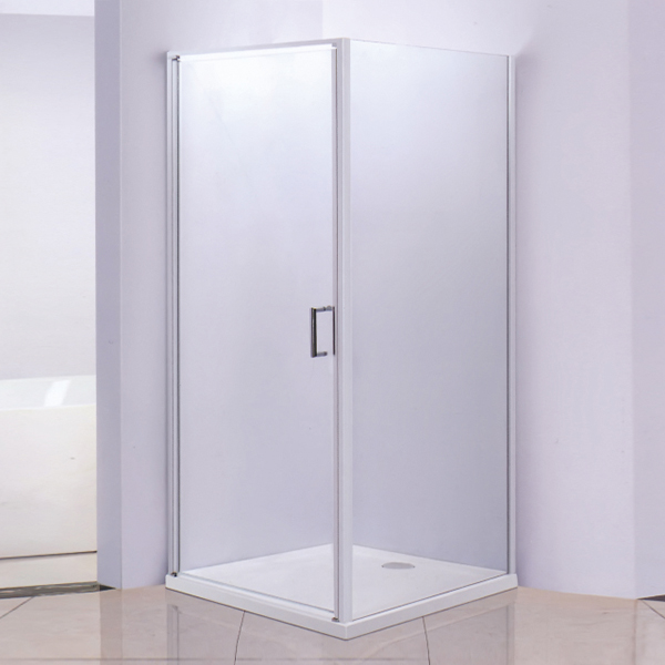 Corner Shower Cubicles With Acrylic Shower Tray-LX-1251