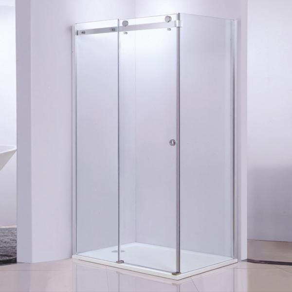 Corner Rectangle Shaped Sliding  Shower Cubicles-LX-1258