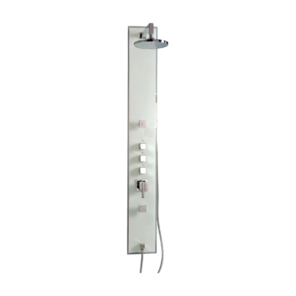 Square Shaped Glass Shower Panel-LX-126