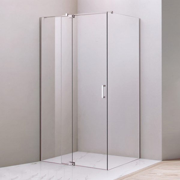 Corner Hinge Rectangle Shaped  Shower Cubicles-LX-1260