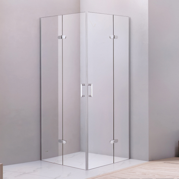 Corner Hinge Square Shaped  Shower Cubicles-LX-1262