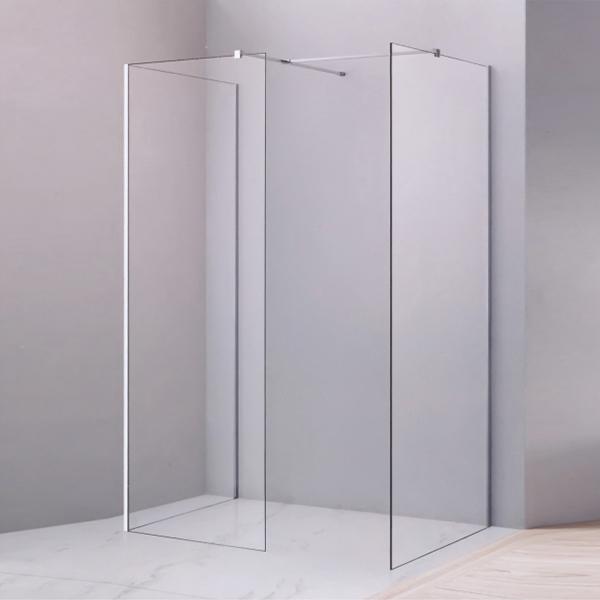 Corner Frameless Tempered Glass Shower Cubicles-LX-1271