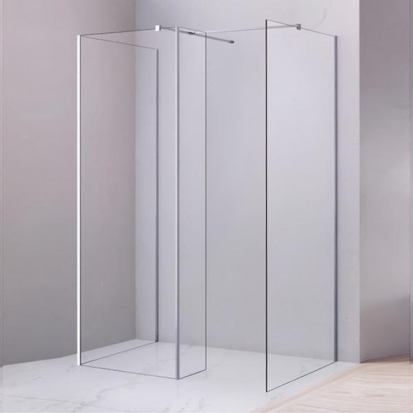 Corner Frameless Tempered Glass Shower Enclosure-LX-1273