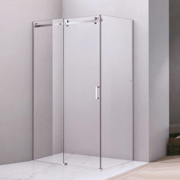 Corner Aluminum Alloy Sliding Shower Enclosure-LX-1280