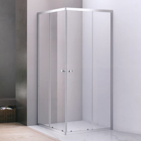 Square Shaped Round Handle Shower Room-LX-1287