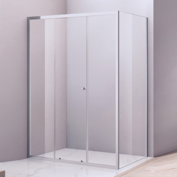 Rectangle Shaped Round Handle Shower Room-LX-1289