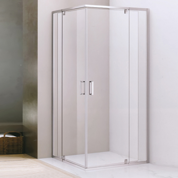 Rectangle Shaped Transperant Tempered Glass Shower Room-LX-1291