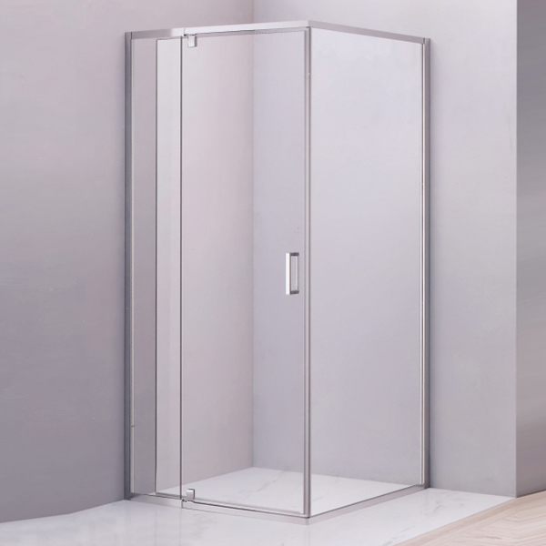 Small Size Frameless Tempered Glass Shower Enclosure-LX-1293
