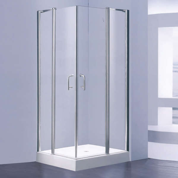 Tempered Glass Shower Enclosure With Frame-LX-1300