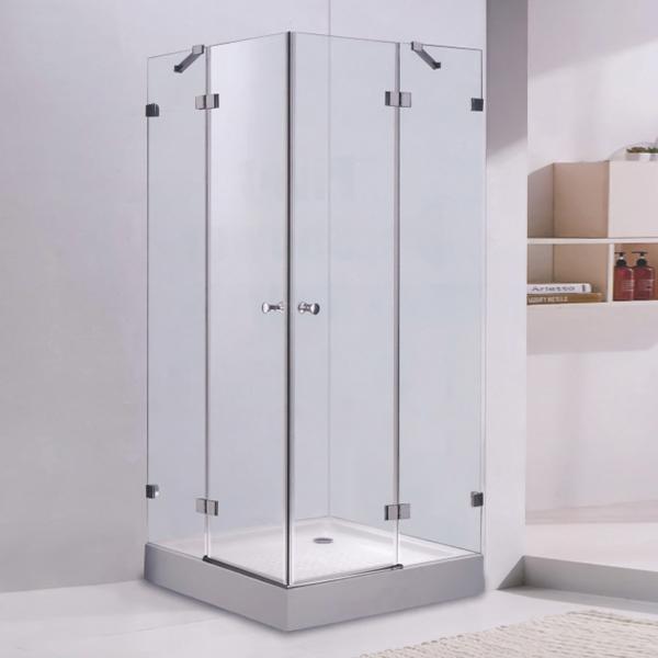 Frameless Hinge Shower Enclosure-LX-1302