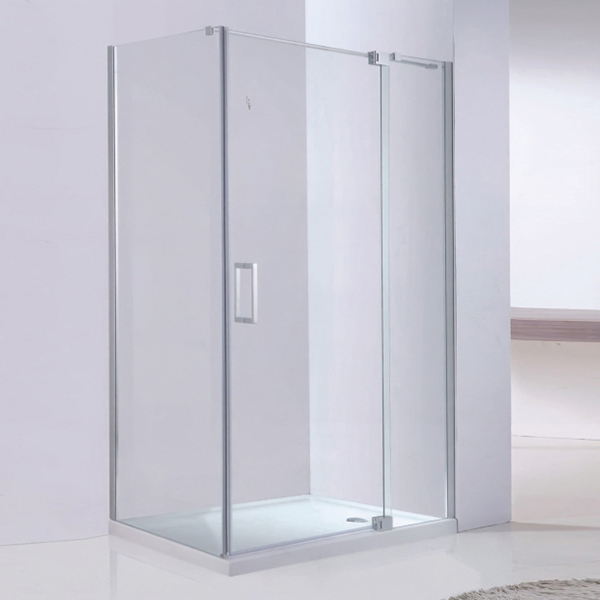 Clear Tempered Glass  Frameless Shower Enclosure-LX-1305