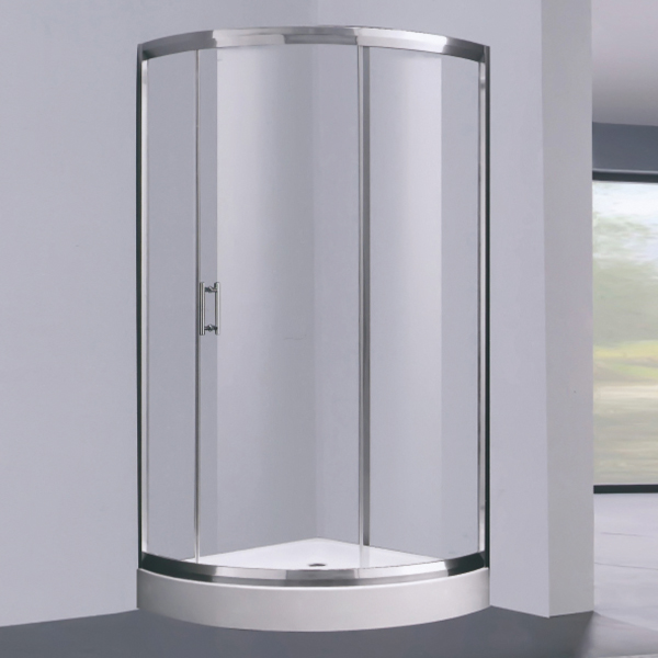 Sector Shaped Aluminum Alloy Shower Room-LX-1307