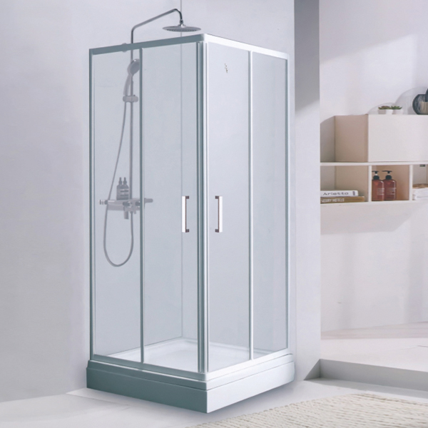 Tempered Glass Shower Enclosure With Shower Set-LX-1309