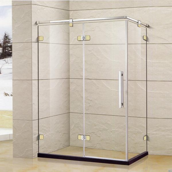 Polished Framed Rectangle Shaped Shower Enclosure-LX-1327