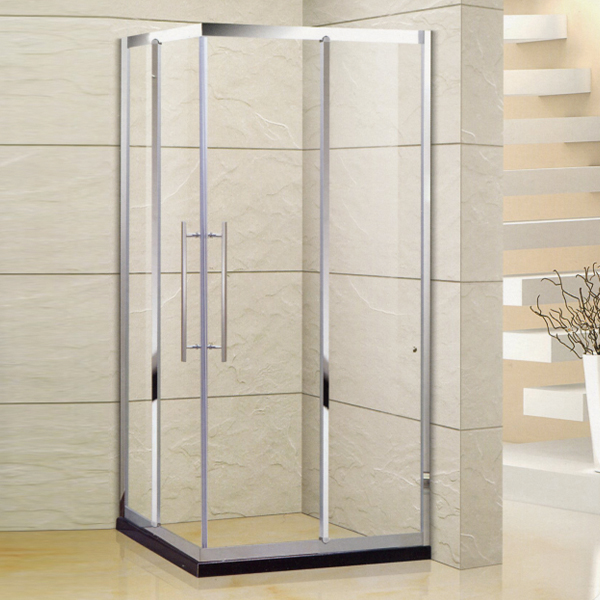 6 mm Tempered Glass Shower Enclosure-LX-1355