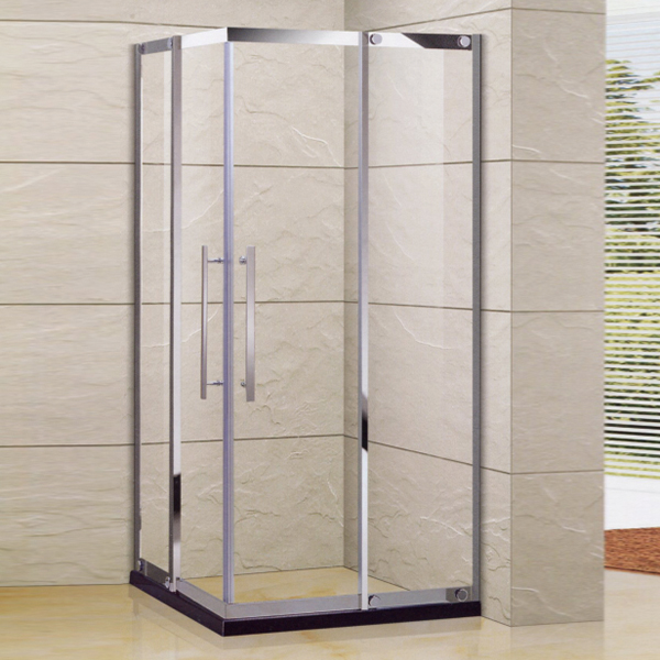 Sliding Shower Enclosure With Artifical Stone-LX-1357