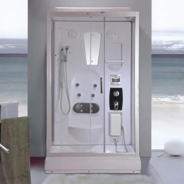 Light Silver Aluminum Alloy Shower Room-LX-2001