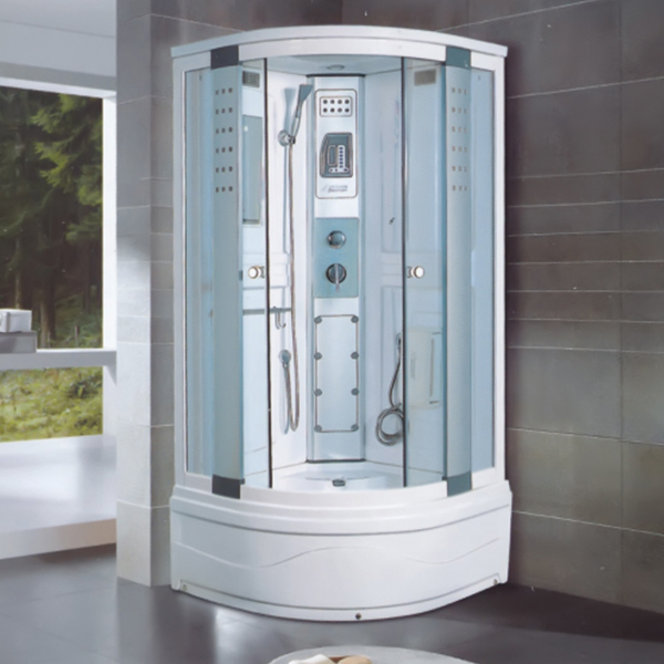 6mm Clear Tempered Glass Shower Room-LX-2013