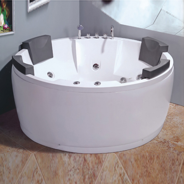 Oval Shaped Multiperson Massage Bathtub-LX-218