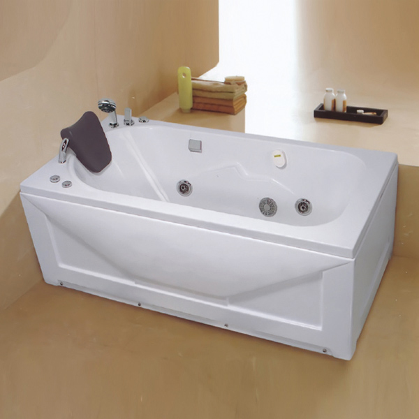Acrylic Massage Bathtub Include Faucet-LX-223