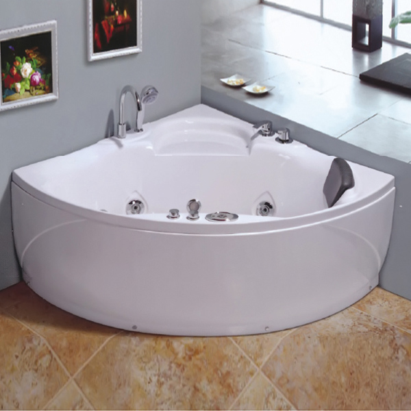 Durable White ABS Material Massage Bathtub-LX-247