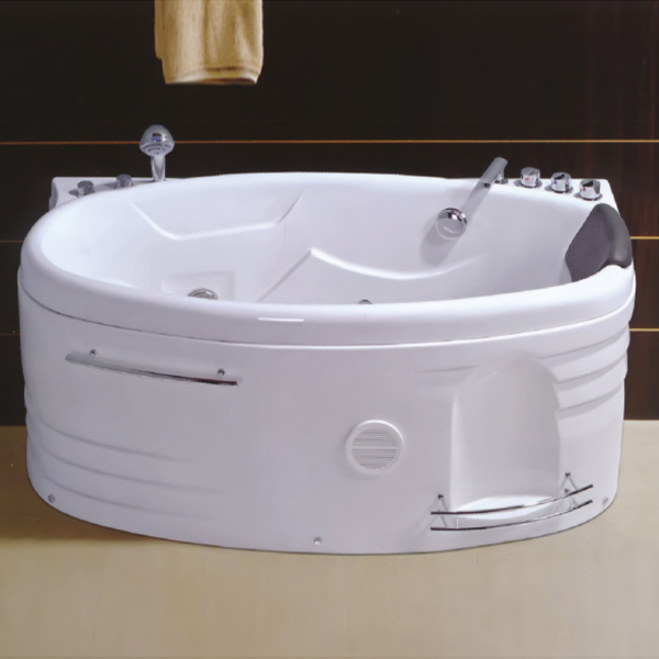 Small Size Oval Shaped Massage Bathtub-LX-251