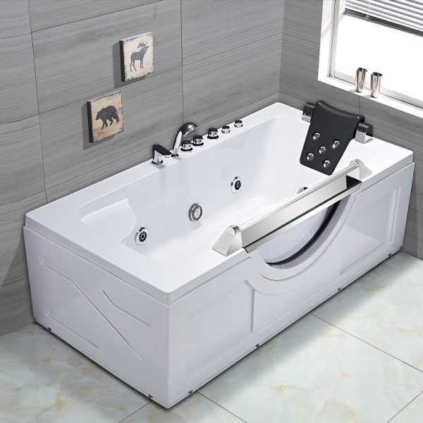Whirpool Massage Bathtub With Water Spray Dream Pillow-LX-270