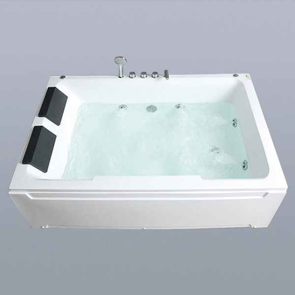 Double Dream Pillows Whirpool Massage Bathtub-LX-276