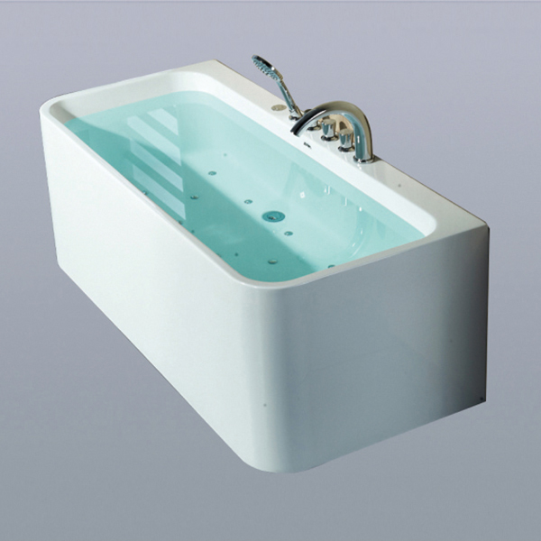 Bubble Pump System Apron Acrylic Bathtub-LX-282