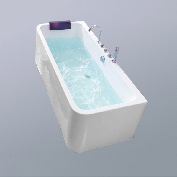 Acrylic Massage Bathtub With Dream Pillow-LX-283