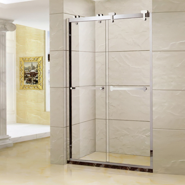 Shower Screen With Artifical Stone Base-LX-3120