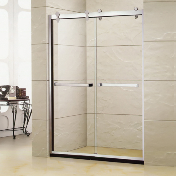 Sliding Shower screen With Artifical Stone-LX-3121