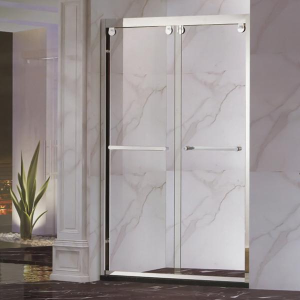 Silver Framed sliding Shower Screen-LX-3125
