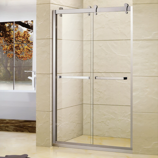 Stainless Steel Shower Door With Frame-LX-3127