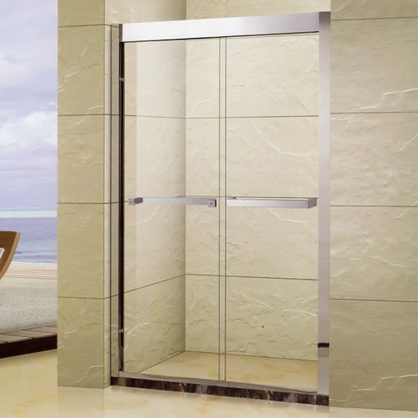 Aluminum Alloy Shower Door With Frame-LX-3131