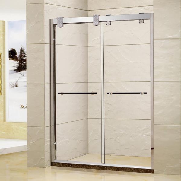 Accept Custom Sliding Shower Door-LX-3132