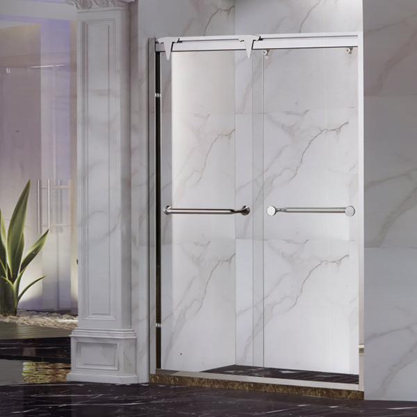 I Shaped Sliding Shower Screen-LX-3136