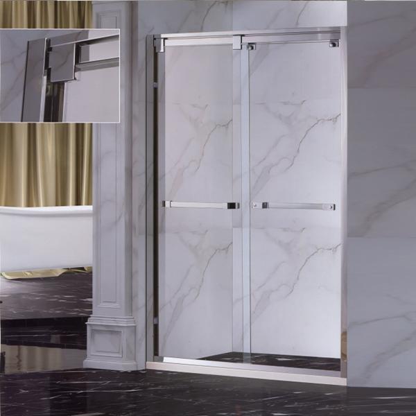 Horizontal Handle Shower Door-LX-3157